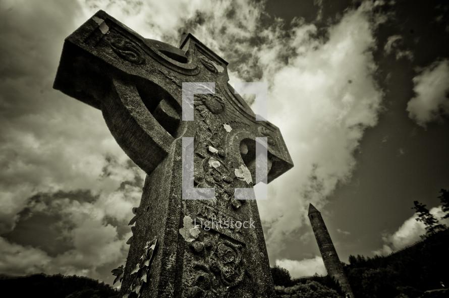Cross sculpture