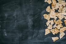 broken crackers
