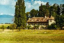 rural house in Switzerland