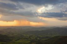 rain clouds in Ethiopia