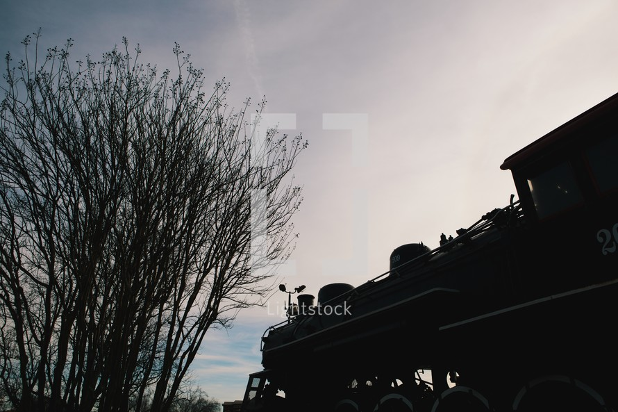 A train engine.