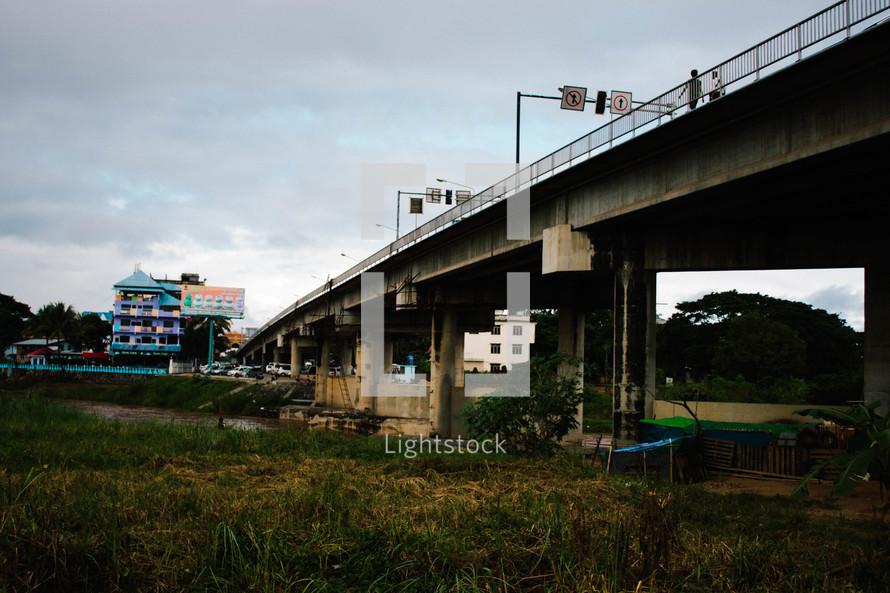 shanty under an overpass