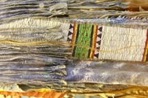 beaded garment