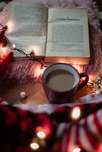 A Merry Christmas chapter in a Novel