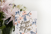 happy mother's day and flowers