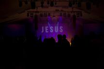 contemporary worship service