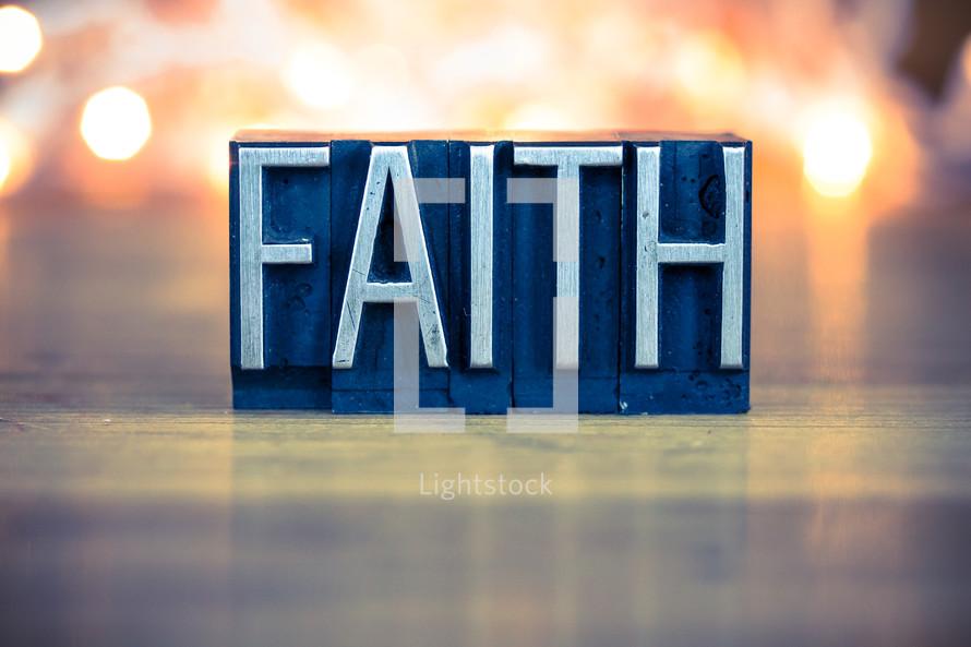 word faith sign