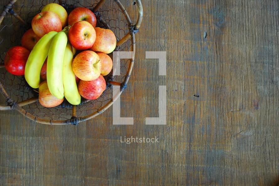 a basket full of fruit