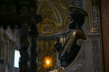St. Peter's Statue in St. Peter's Basilica