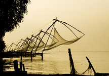 Fishing nets in India