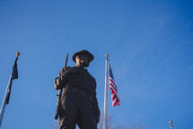 military soldier statue