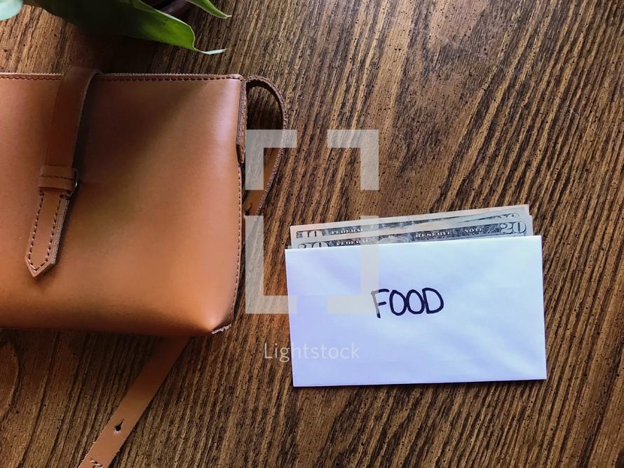 budeting - food envelope