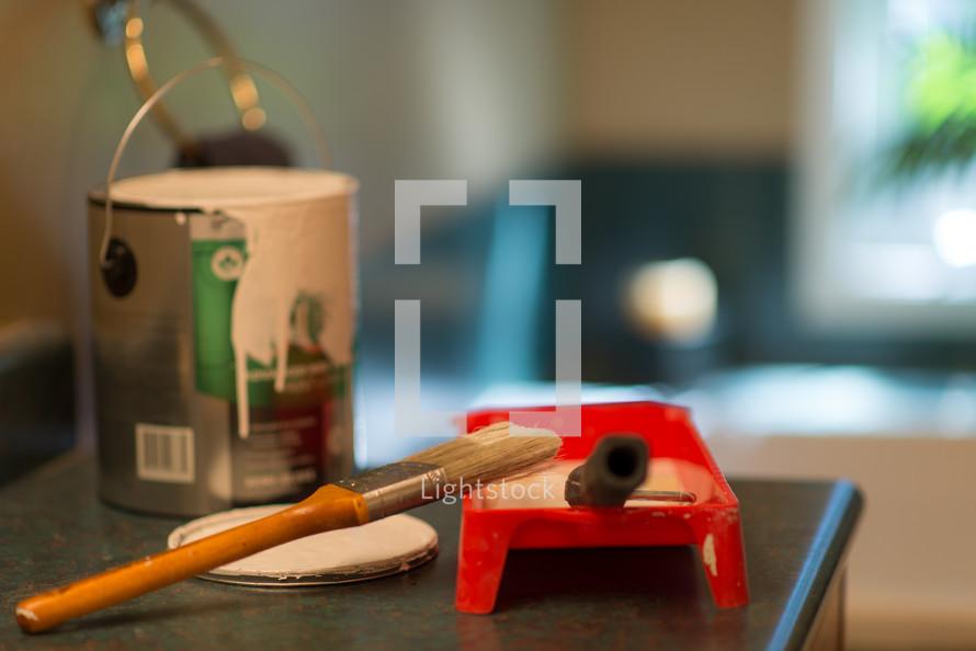 DIY paint supplies