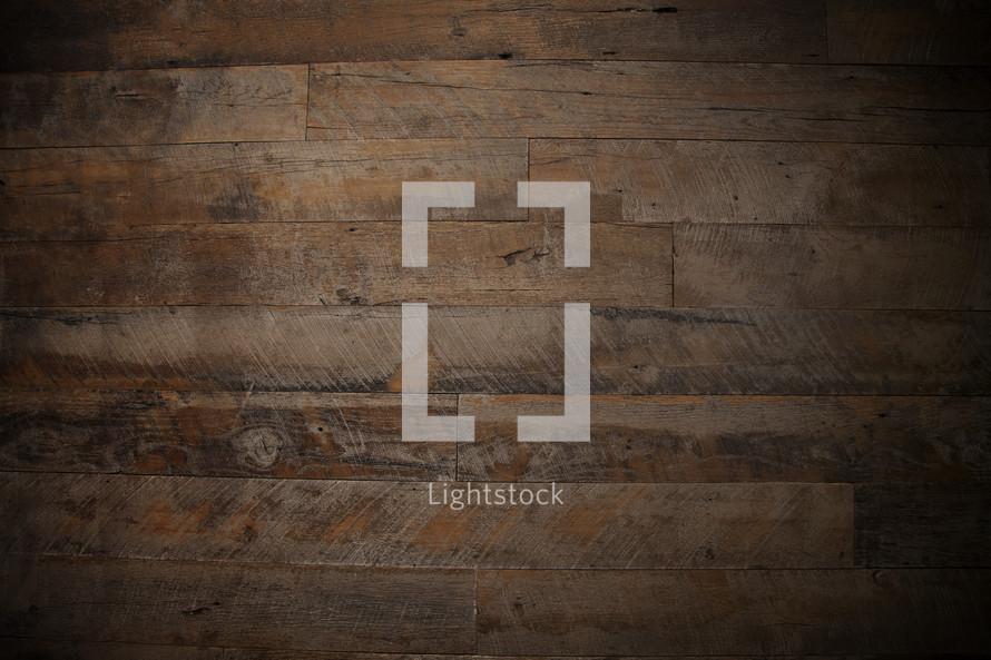 rustic wood floor background.