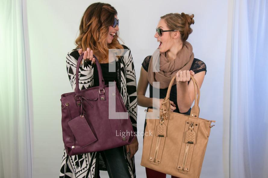 woman going shopping