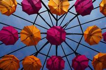 umbrellas and skylight