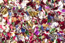 confetti pieces background.
