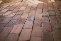 Brick walkway.