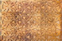 ornate wood carvings