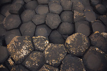 black pavers texture background