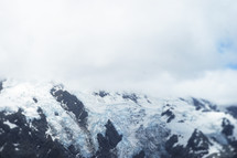 icy mountaintops