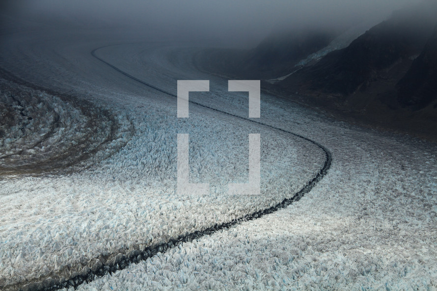icy slopes
