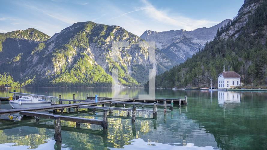 Bavaria lake marina
