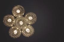 lightbulbs in hanging lamp