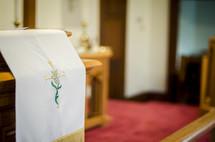church altar parament