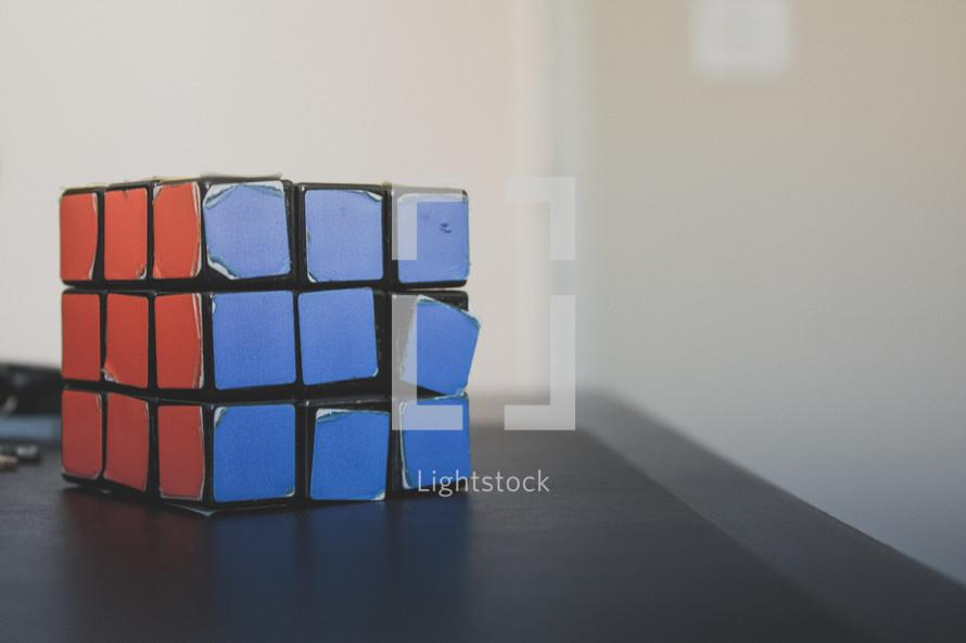 vintage rubix cube