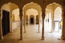 Hawa Mahal arches