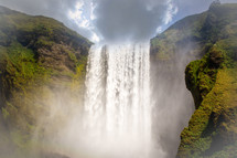 powerful waterfall