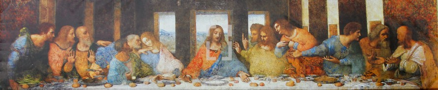 The Last Supper panorama artwork