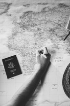 missions preparation, planning travel