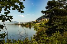 Shoreline in Switzerland