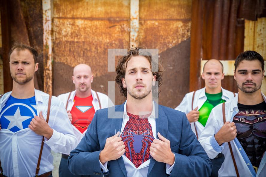 Undercover Super Heros
