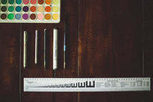Artist's supplies.