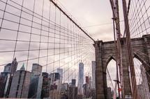 cables on a bridge