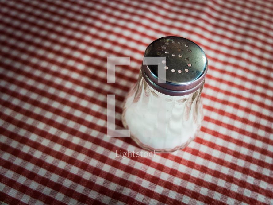 salt in a shaker