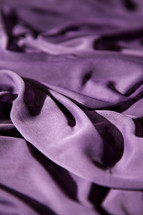 purple cloth