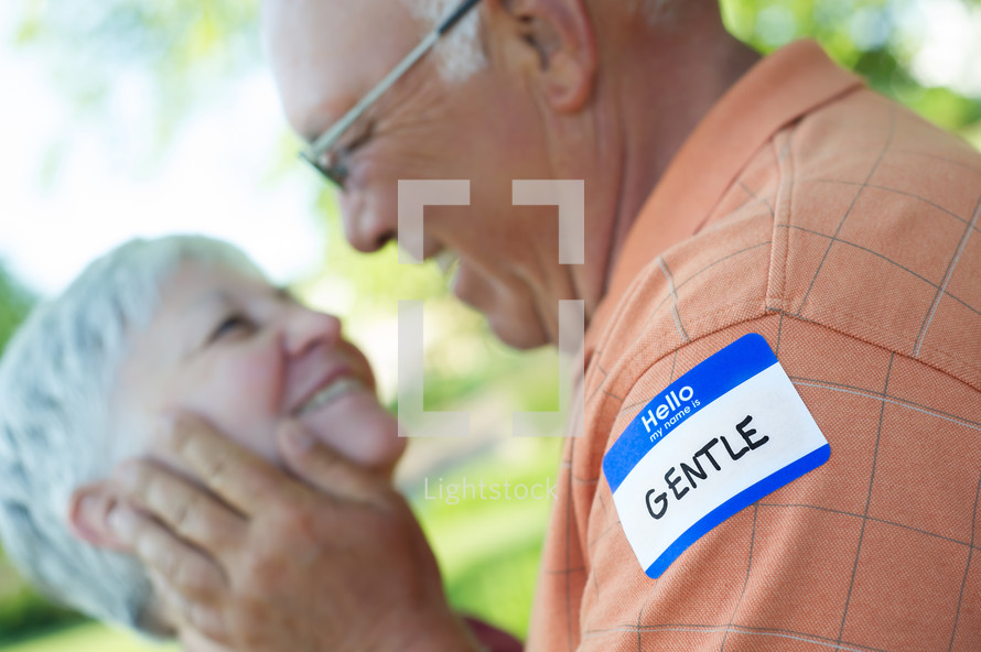 gentle name tag