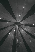 lights in a tent
