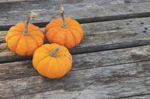 pumpkins background for event slide or social media post