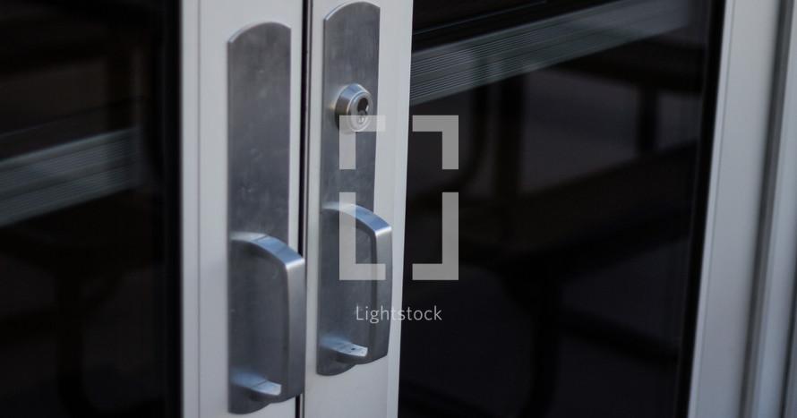 metal door pulls