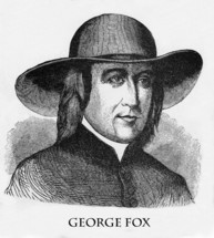 George Fox, 1624 - 1691, Founder of the Religious Society of Friends also known as the Quakers.