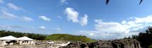 Panoramic of Beth Shean in Israel