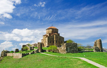 Orthodox Monastery Djvari 5th century. Georgia, Mtskheta
