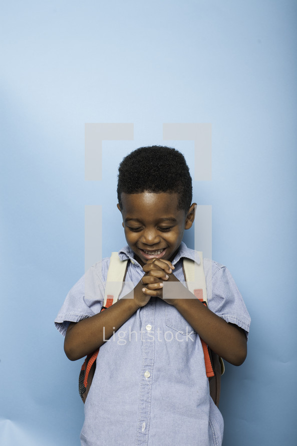 praying before the first day of school