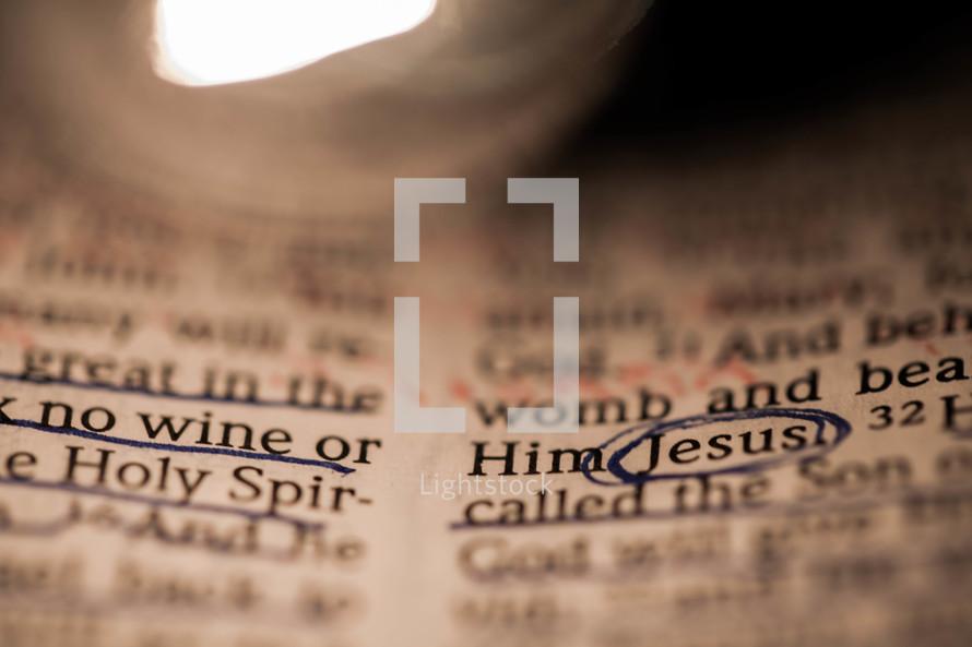 Scriptures in bible