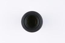 lens on white background